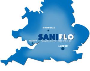 Saniflo Map
